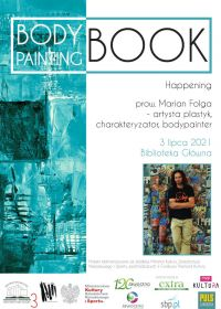 Bodypainting-book. Happening
