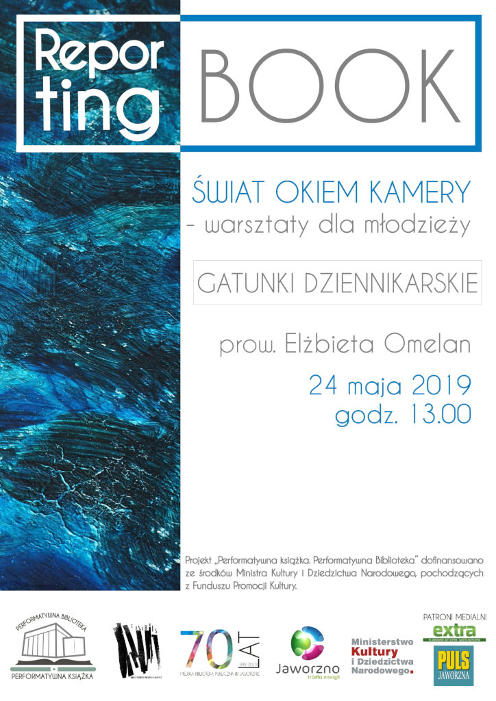 "Plakat ""Reporting-Book"""